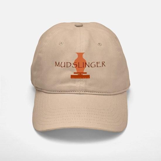 Burnt Mud Pie Mudslinger Baseball Baseball Cap