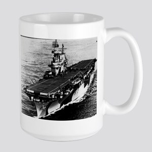 USS Enterprise CV-6 Large Mug