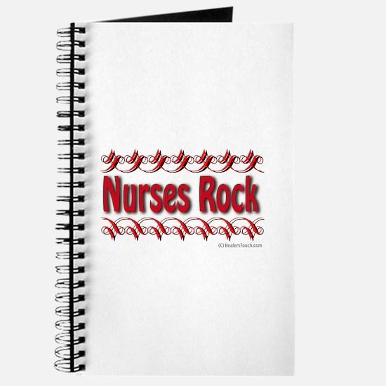Cute Nurse rock Journal