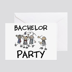 Bachelor Party Greeting Card