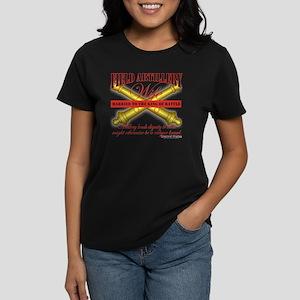 Army Field Artillery Wife FA Women's Dark T-Shirt
