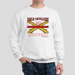 Army Field Artillery Wife FA Sweatshirt