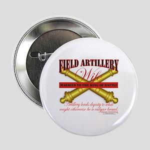 "Army Field Artillery Wife FA 2.25"" Button"