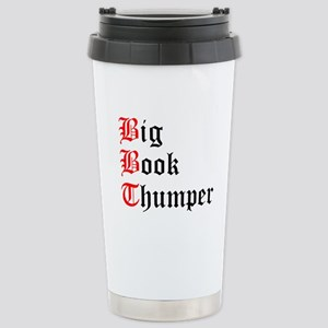 Big Book Thumper (2) Stainless Steel Travel Mug