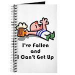 I've Fallen & I Can't Get Up Journal