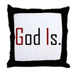 God Is Throw Pillow