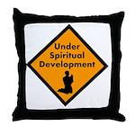 Under Spritual Development Throw Pillow
