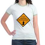 Under Spritual Development Jr. Ringer T-Shirt