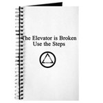 The Elevator is Broken Use th Journal