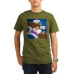 baby snooze Organic Men's T-Shirt (dark)