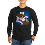baby snooze Long Sleeve Dark T-Shirt