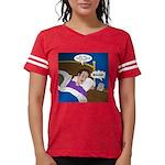 baby snooze Womens Football Shirt