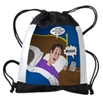 baby snooze Drawstring Bag