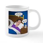 baby snooze 20 oz Ceramic Mega Mug