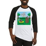 Outhouse or Phone Booth Baseball Tee