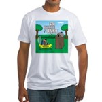 Outhouse or Phone Booth Fitted T-Shirt