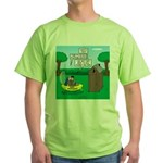 Outhouse or Phone Booth Green T-Shirt