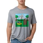 Outhouse or Phone Booth Mens Tri-blend T-Shirt