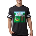 Outhouse or Phone Booth Mens Football Shirt