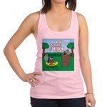 Outhouse or Phone Booth Racerback Tank Top