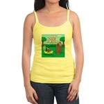 Outhouse or Phone Booth Jr. Spaghetti Tank