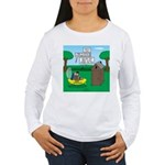Outhouse or Phone Boot Women's Long Sleeve T-Shirt