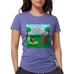 Outhouse or Phone Booth Womens Tri-blend T-Shirt