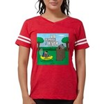 Outhouse or Phone Booth Womens Football Shirt
