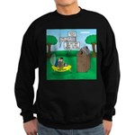 Outhouse or Phone Booth Sweatshirt (dark)