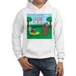 Outhouse or Phone Booth Hooded Sweatshirt