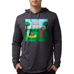 Outhouse or Phone Booth Mens Hooded Shirt