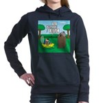Outhouse or Phone Booth Women's Hooded Sweatshirt