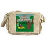 Outhouse or Phone Booth Messenger Bag
