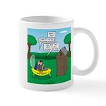 Outhouse or Phone Booth 11 oz Ceramic Mug
