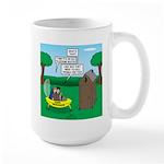 Outhouse or Phone Booth 15 oz Ceramic Large Mug