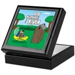 Outhouse or Phone Booth Keepsake Box