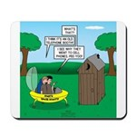 Outhouse or Phone Booth Mousepad