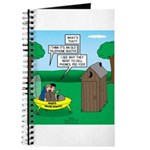 Outhouse or Phone Booth Journal