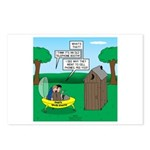 Outhouse or Phone Booth Postcards (Package of 8)