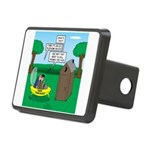 Outhouse or Phone Booth Rectangular Hitch Cover