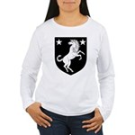 Meridies Populace Badge Women's Long Sleeve T-Shir