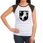 Meridies Populace Badge Women's Cap Sleeve T-Shirt
