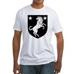 Meridies Populace Badge Fitted T-Shirt