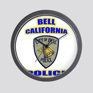 Bell Police Wall Clock