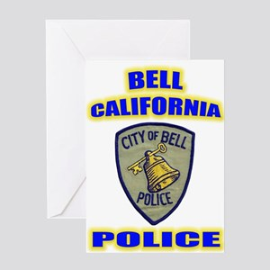 Bell Police Greeting Card