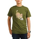 Bad kitty Organic Men's T-Shirt (dark)