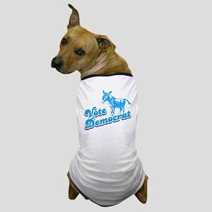 Vote Democrat Dog T-Shirt