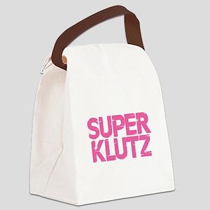 Super Klutz - Pink Canvas Lunch Bag