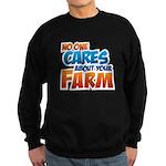 No One Cares Sweatshirt (dark)