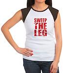 Sweep The Leg Women's Cap Sleeve T-Shirt